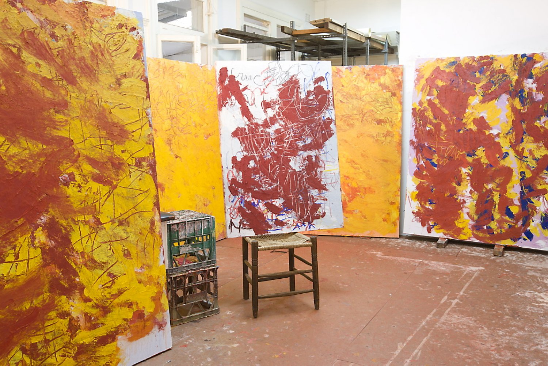 Aida Tomescu, Ravel Exhibition Studio Shot 16