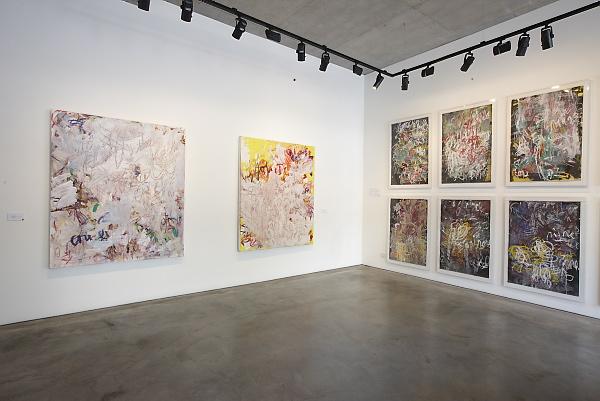 Aida Tomescu, Tuckson/Tomescu Exhibition, Liverpool St Gallery_9