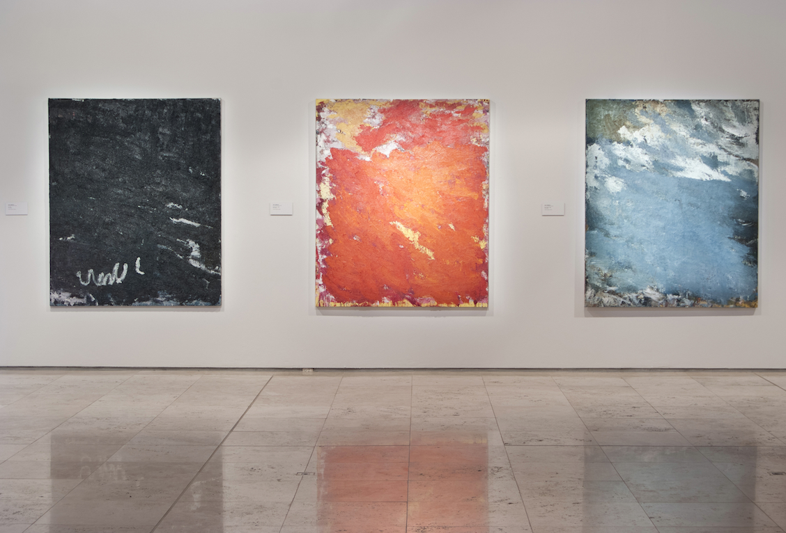 Aida Tomescu, Installation View, Laverty 2, Newcastle Art Gallery
