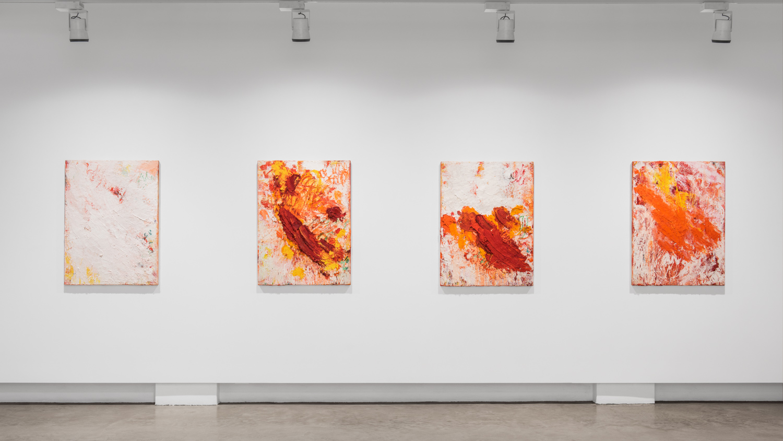 Aida Tomescu, Installation 003 Eyes In The Heat